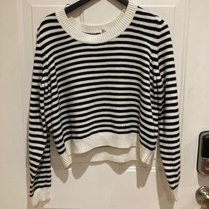 H&M knit Striped top ✨